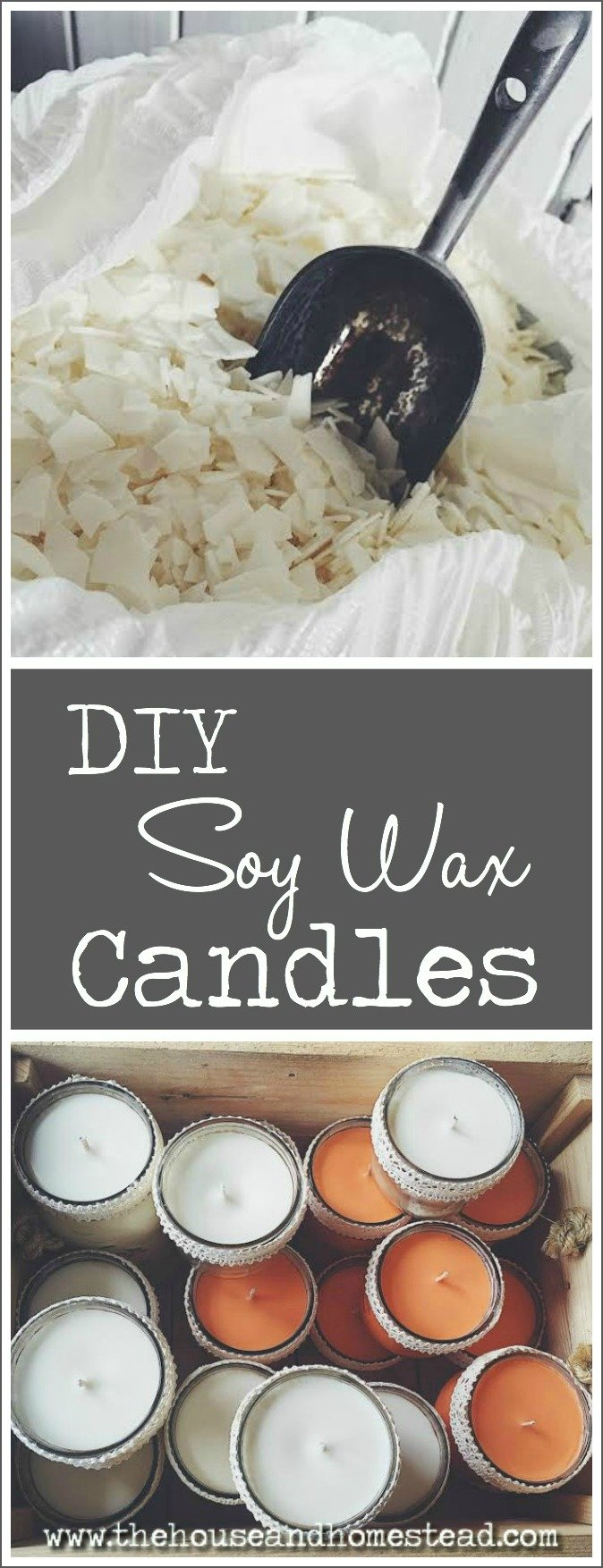 Homemade Soy Wax Candles A Step By Tutorial For Making Scented