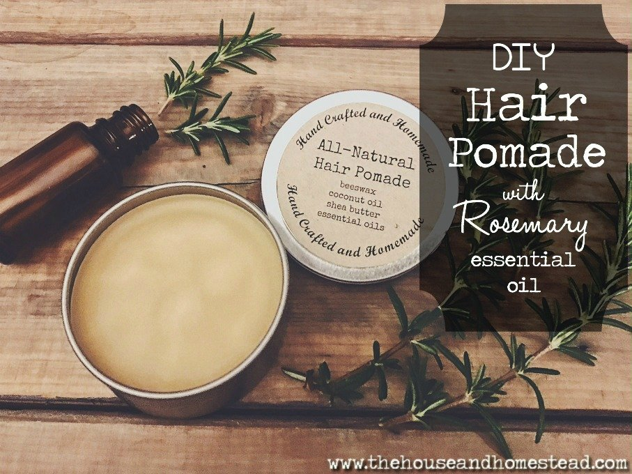 All-Natural DIY Hair Pomade