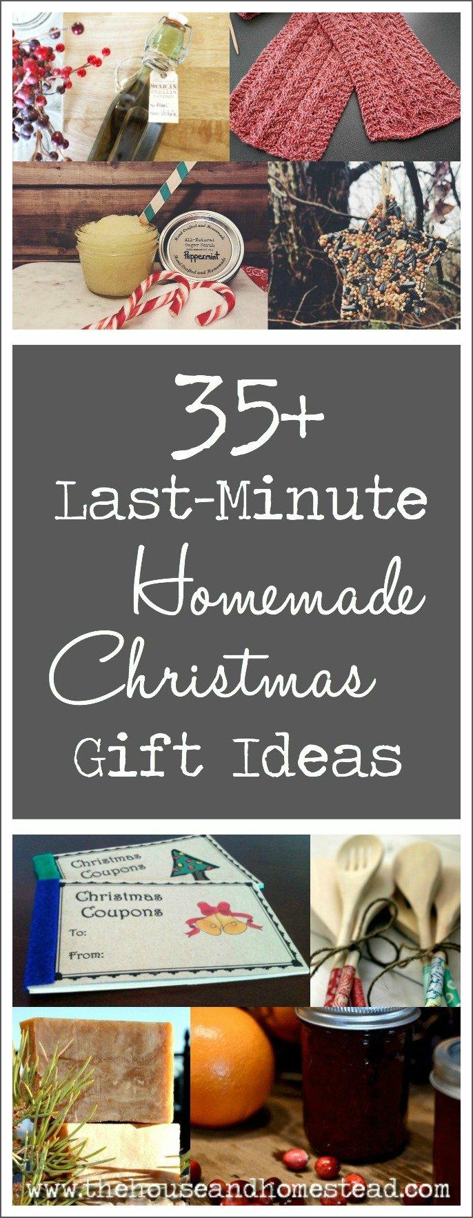 35+ Last-Minute Homemade Christmas Gift Ideas   The House & Homestead
