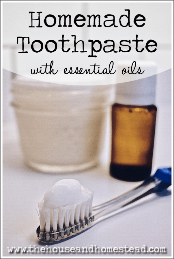 All-Natural Homemade Toothpaste Recipe